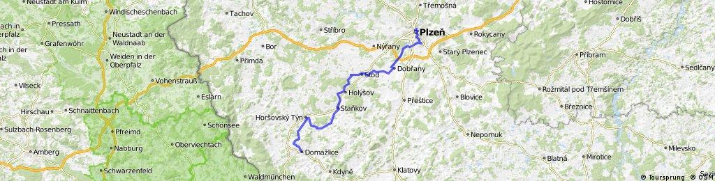 KT-2016-05-17: Domazlice - Pilsen