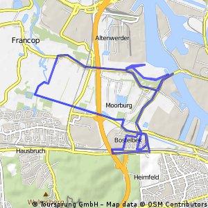 Kleine Süderelbe-Radtour