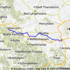 Eisenach - Molsdorf