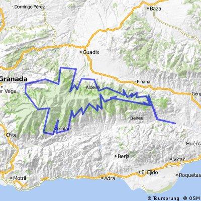 Sierra Nevada MTB epic