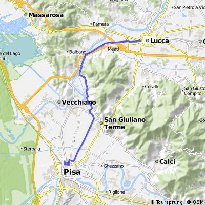 Lucca -Pisa