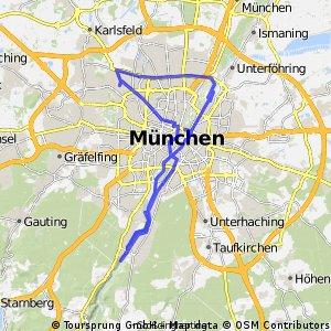 München City - Isar Radweg