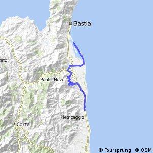 Korsika 10-14 (Moriani Plage - San Damiano)