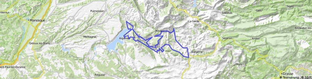 Route des Gorges, Route des Cretes