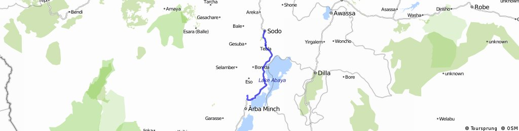 Day 5 Sodo to Arba Minch
