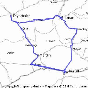 Diyarbakir - Batman - Mardin