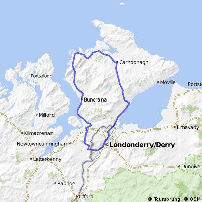 La península de Inishowen