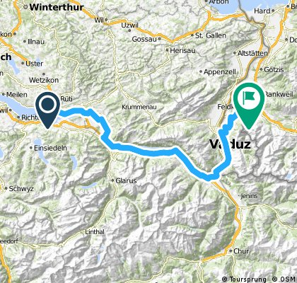 Challenge Tour: Rapperswil - Feldkirch