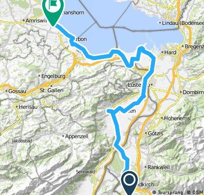 Challenge Tour: Feldkirch - Romanshorn