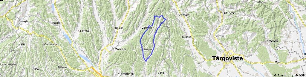 Traseu Beleti - Candesti