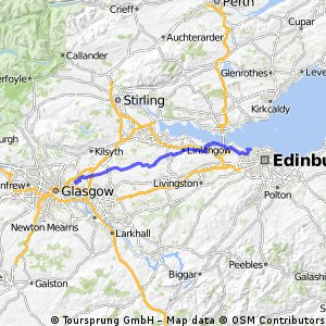 Glasgow Edinburgh kempingtől kempingig