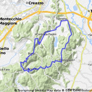 Zovencedo-San Gottardo-Raposso-Longara