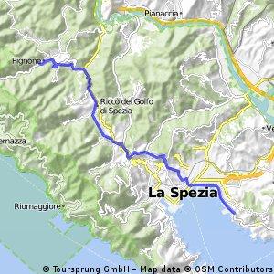 Pignone to La Spezia