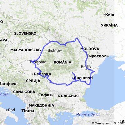 Romania tour