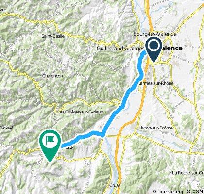 Valence - Privas