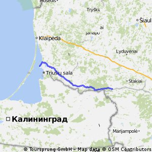Route Lithuania day 15