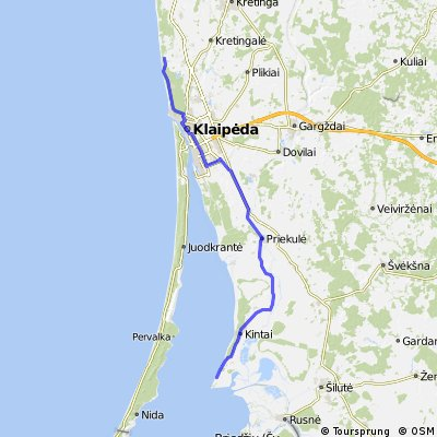 Route Lithuania day 16