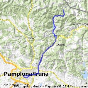 Pamplona-Urkiaga-Pamplona