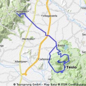 Nanto-Rovolon-Monte della Madonna-Teolo-Nanto