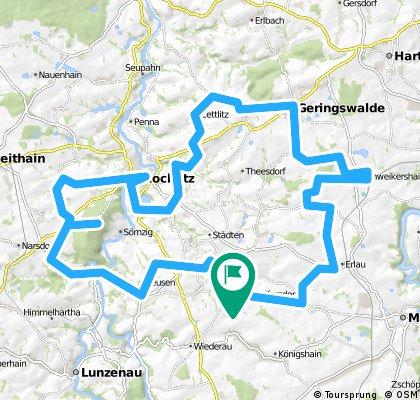 4 - Auf den Spuren des Roten Porphyrs zwischen Rochlitz und der Talsperre Kriebstein