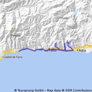 La Parra-Guainos-Trebolar +40km 1000 desnivel Galvez y Ermita