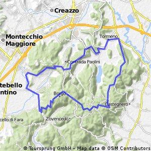 San Gottardo-Brendola-Militare-Longara