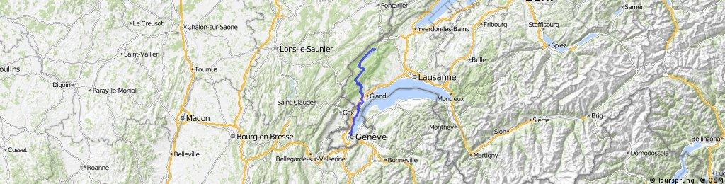 Jura Tour: Geneva -  Le Pont