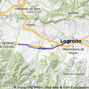 Camino 4. Etappe nach Santa Domingo