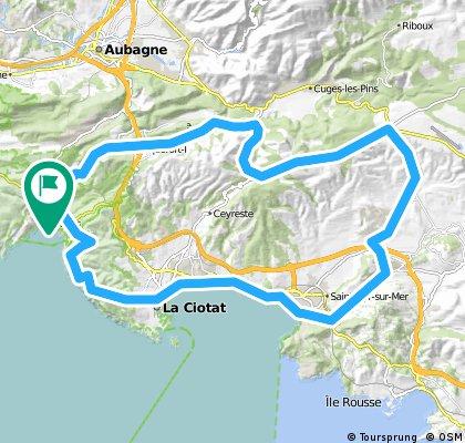 Cassis East + Route des cretes
