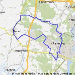 Havellandradweg über Seeburg