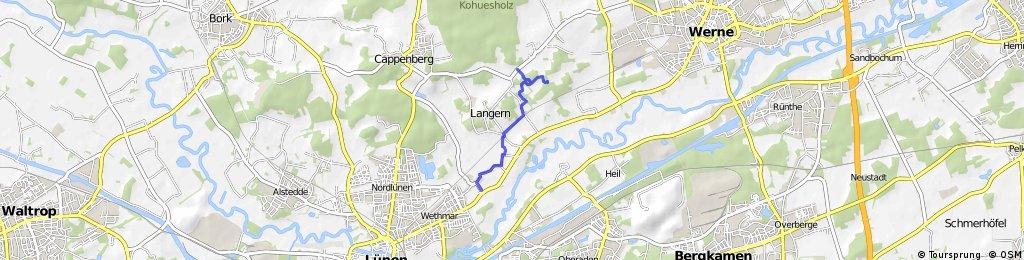 Wanderweg Lünen - Werne Vario inkl. Zufahrt