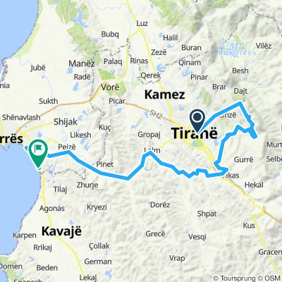 Tirana - Drač