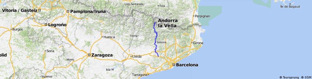 Pujada a Andorra