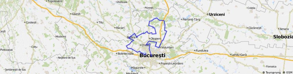 """Turul """"Frunzelor Moarte"""" (pe langa Bucuresti)"""