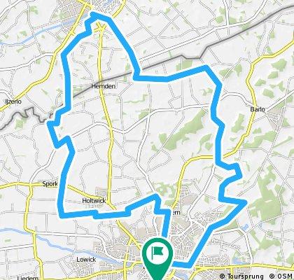Bocholter Radtouren Norden