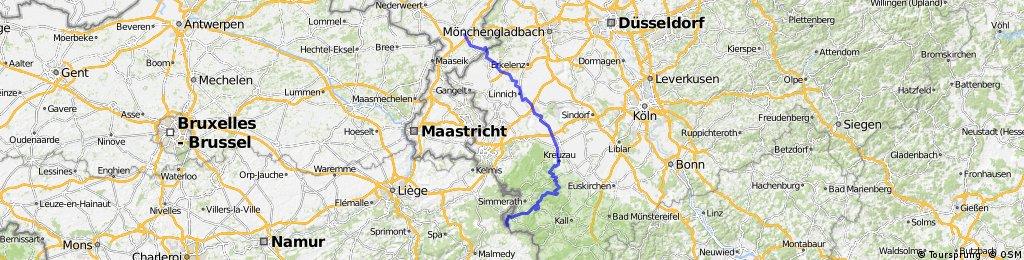 Ruhrufer radweg