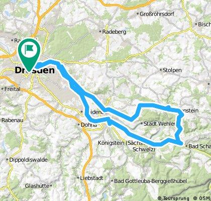 DD-Bad Schandau-Hohnstein-DD