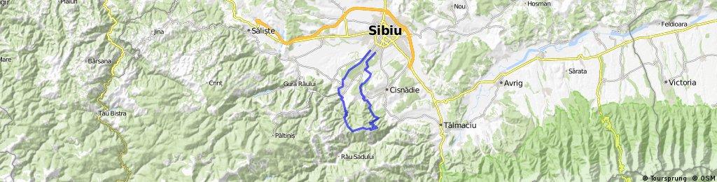 Sibiu-Cisnadioara-Magura-Prislop-Rasinari-Sibiu