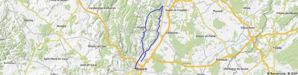 Route de Grand Cru - North