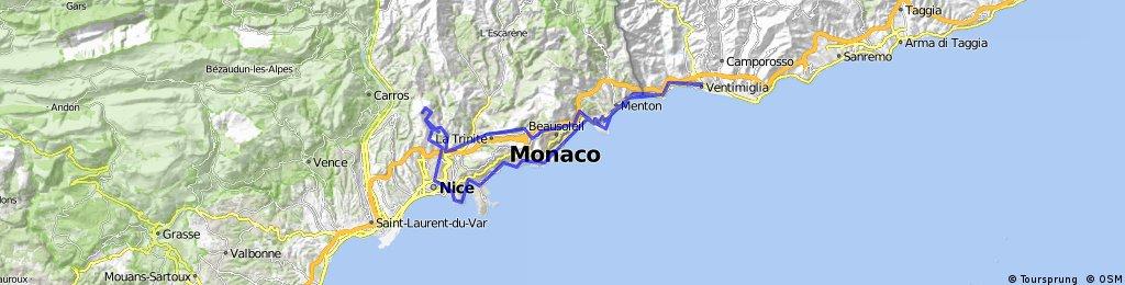 Ventimiglia Monaco Nizza