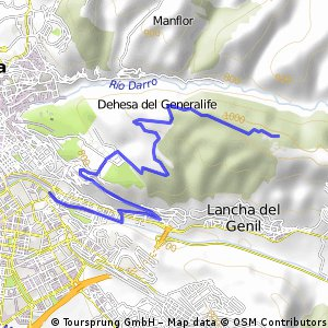 Granada (Puente Verde-Llano de la Perdíz)