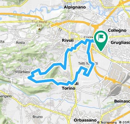 Rivoli-Villarbasse-Rivalta-Rivoli