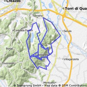 Castegnero-Nanto-Lapio-Pianezze-Longara-Castegnero-Mason-Nanto-Mossano