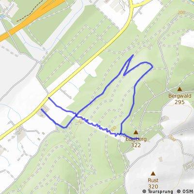 Strommasten Donwhill - Offizielle Strecke
