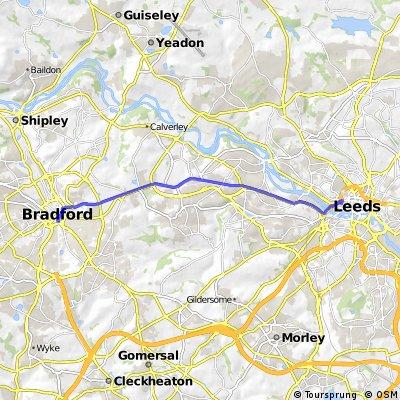 Cycle Superhighway from Bradford Interchange
