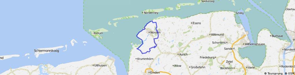 Kleine Ostfriesland Runde