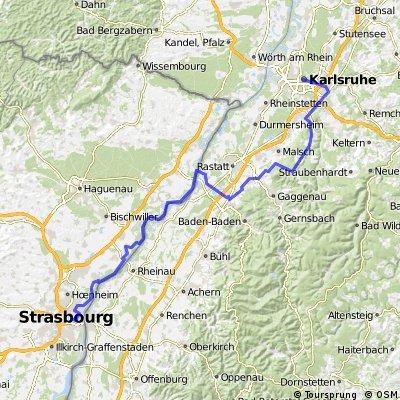 Karlsruhe-Strasbourg