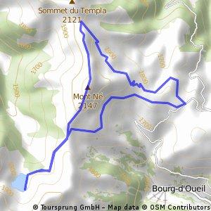 Randonnée Mont Né - Lac de Bordères