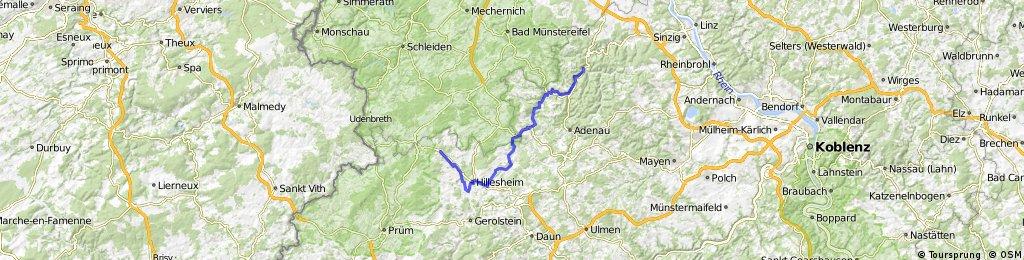 Kyll-Ahrtall Radtour (Kalkeifel)