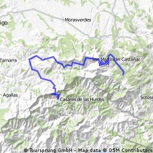2 La Alberca - Casares de Las Hurdes